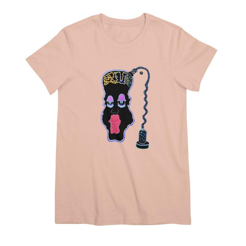 Plugged In Women's Premium T-Shirt by Baston's T-Shirt Emporium!