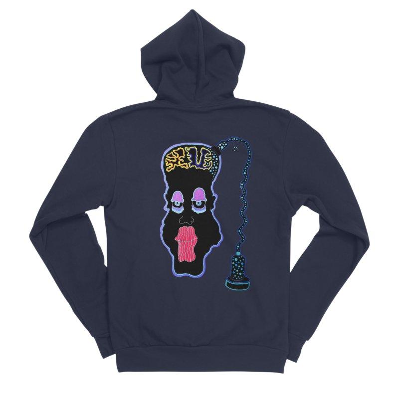 Plugged In Women's Sponge Fleece Zip-Up Hoody by Baston's T-Shirt Emporium!