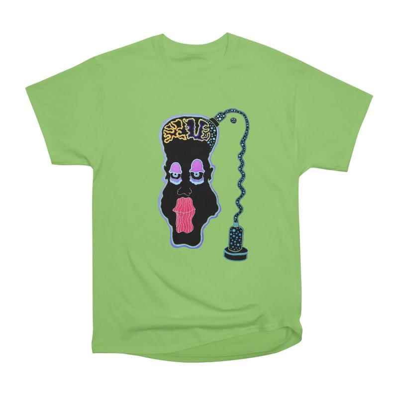 Plugged In Women's Heavyweight Unisex T-Shirt by Baston's T-Shirt Emporium!