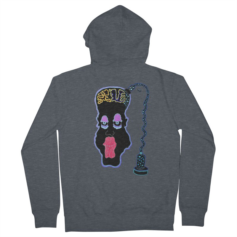 Plugged In Women's French Terry Zip-Up Hoody by Baston's T-Shirt Emporium!