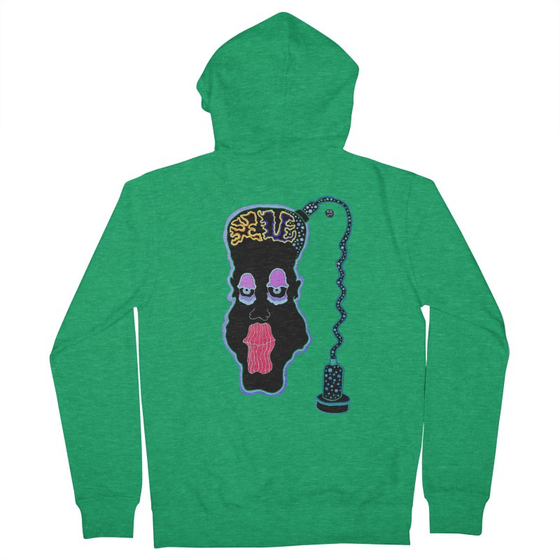 Plugged In Men's Zip-Up Hoody by Baston's T-Shirt Emporium!