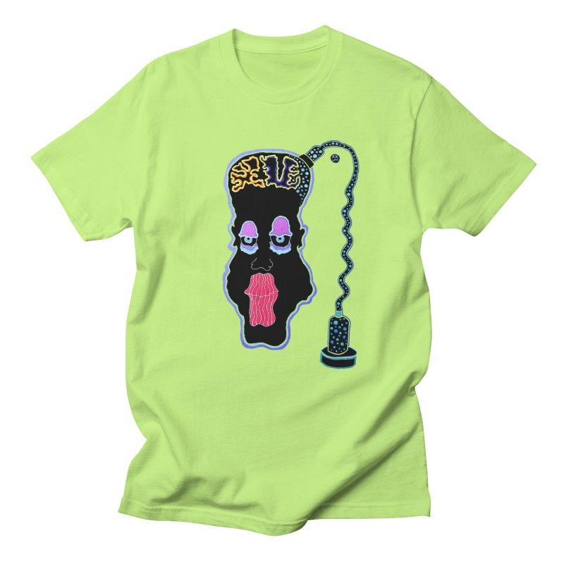 Plugged In Men's Regular T-Shirt by Baston's T-Shirt Emporium!