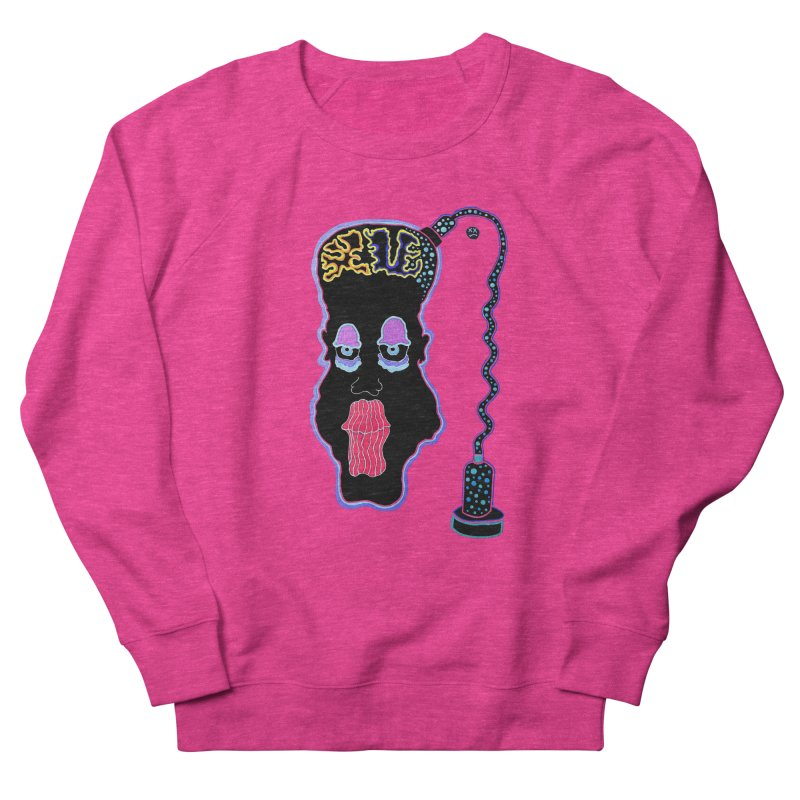 Plugged In Women's French Terry Sweatshirt by Baston's T-Shirt Emporium!