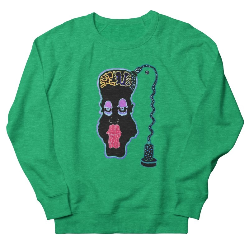 Plugged In Men's French Terry Sweatshirt by Baston's T-Shirt Emporium!