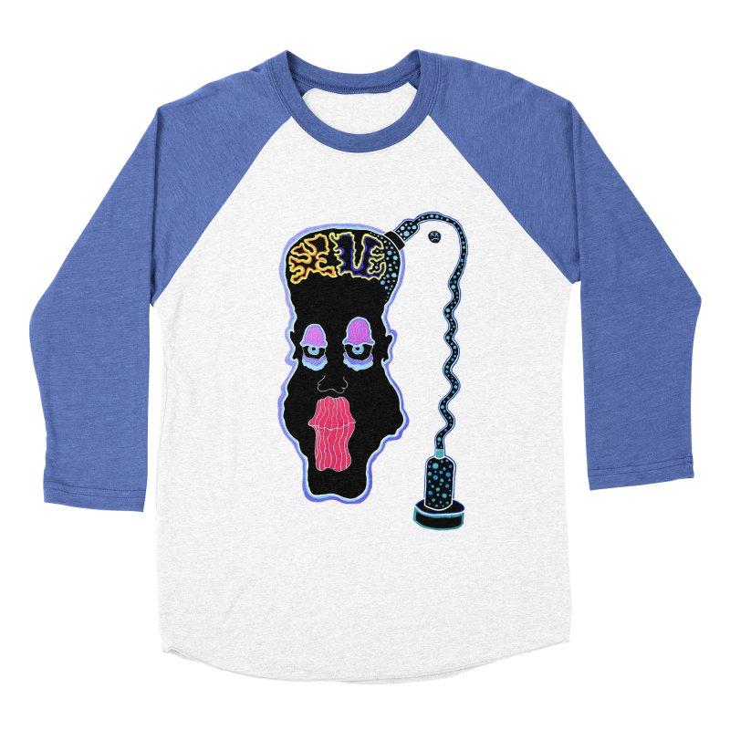 Plugged In Women's Baseball Triblend Longsleeve T-Shirt by Baston's T-Shirt Emporium!
