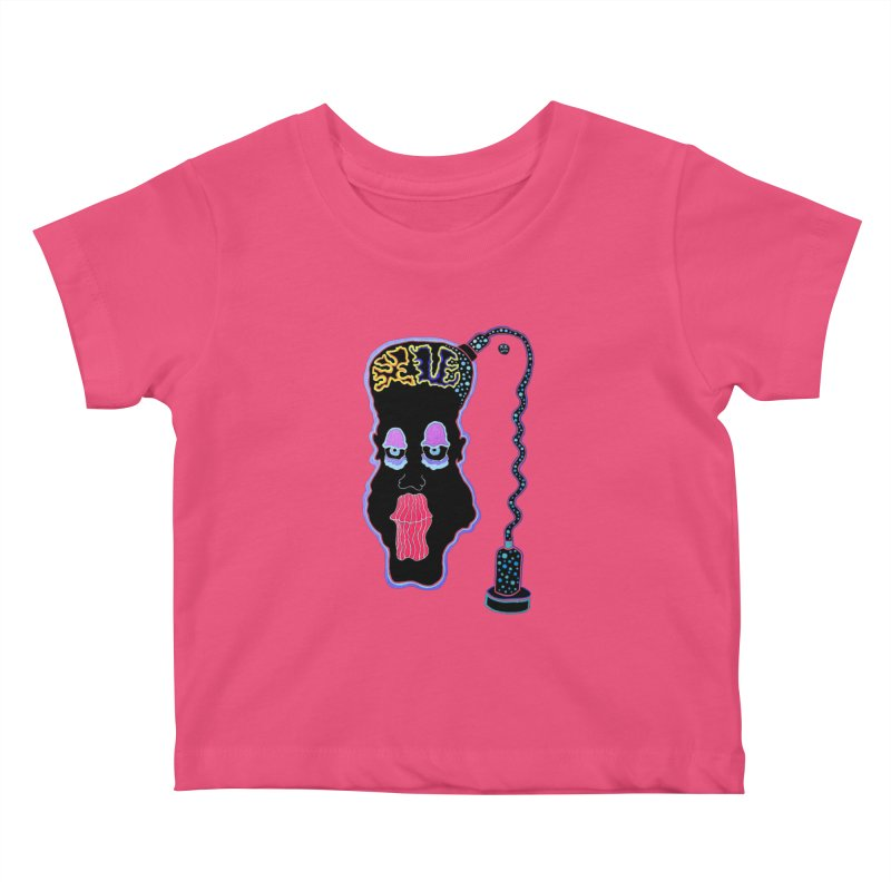Plugged In Kids Baby T-Shirt by Baston's T-Shirt Emporium!