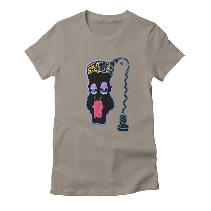 Plugged In Women's T-Shirt by Baston's T-Shirt Emporium!