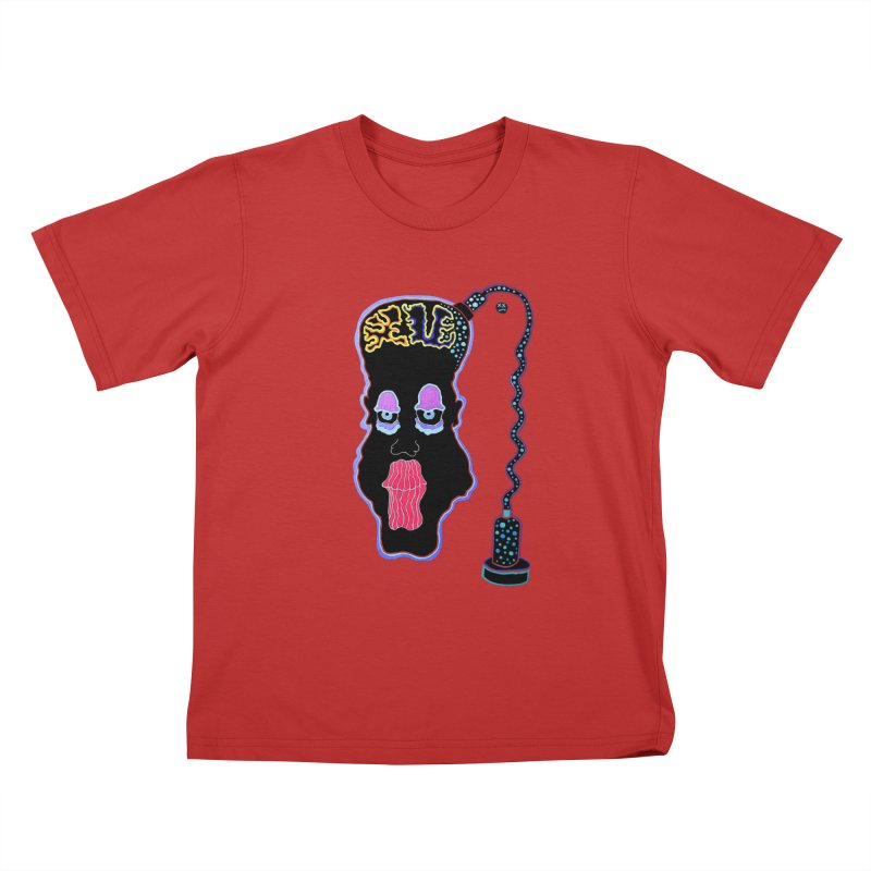 Plugged In Kids T-Shirt by Baston's T-Shirt Emporium!