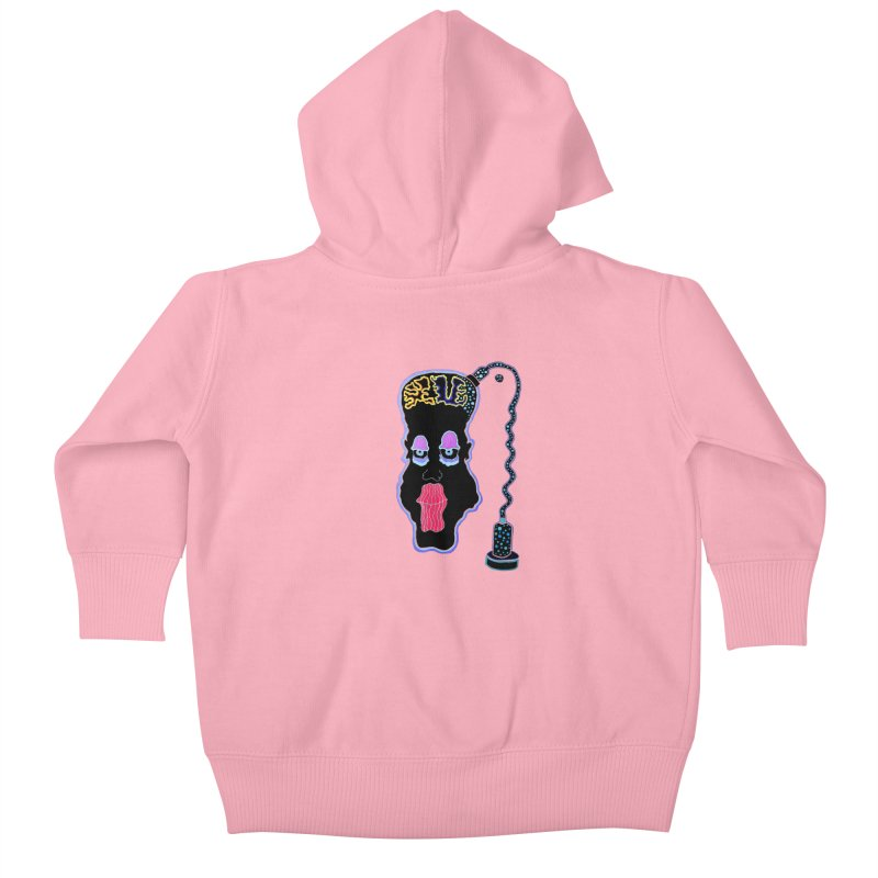 Plugged In Kids Baby Zip-Up Hoody by Baston's T-Shirt Emporium!