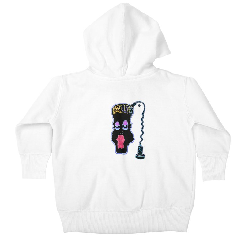 Plugged In Kids Baby Zip-Up Hoody by Baston's T-Shirt Emporium!