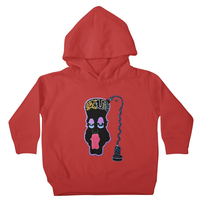 Plugged In Kids Toddler Pullover Hoody by Baston's T-Shirt Emporium!