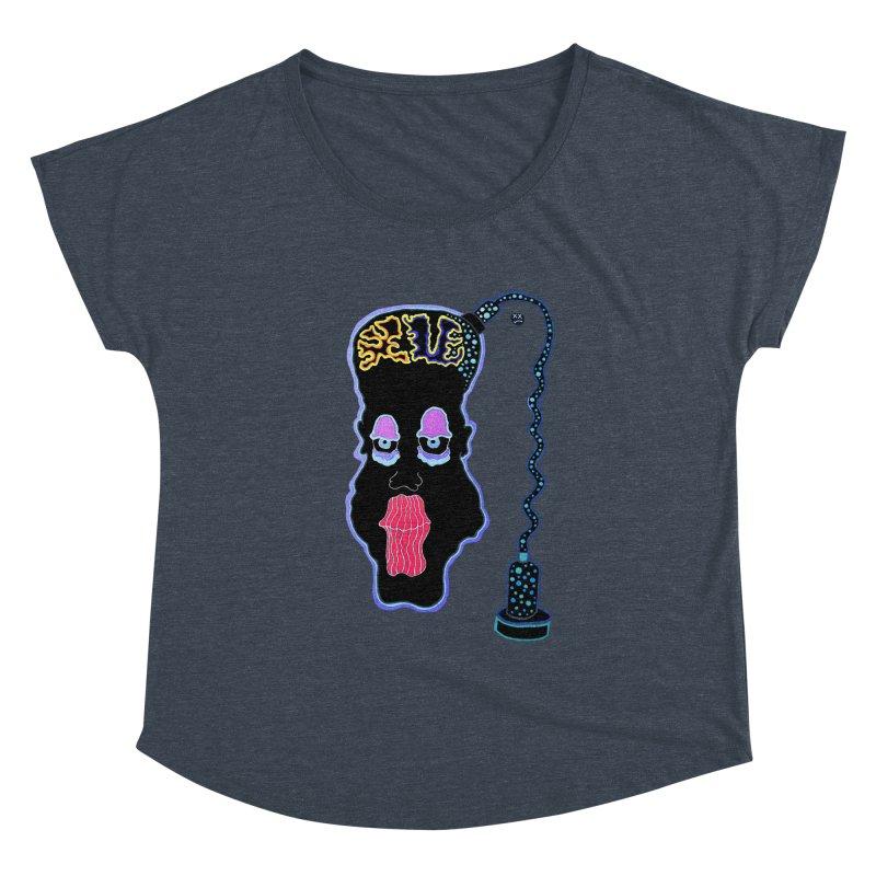 Plugged In Women's Dolman Scoop Neck by Baston's T-Shirt Emporium!