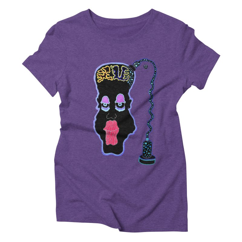 Plugged In Women's Triblend T-Shirt by Baston's T-Shirt Emporium!