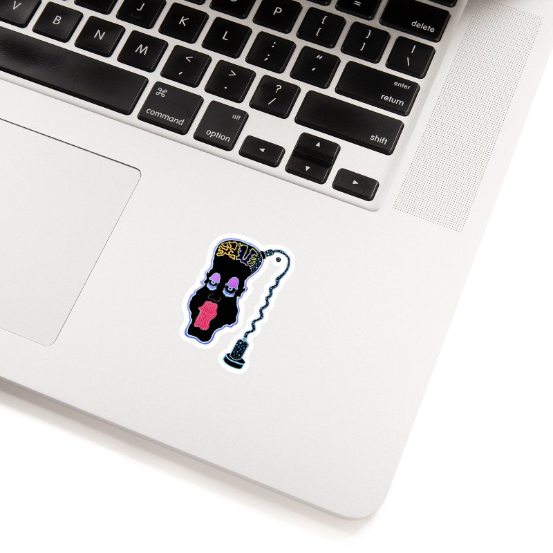 Plugged In Accessories Sticker by Baston's T-Shirt Emporium!