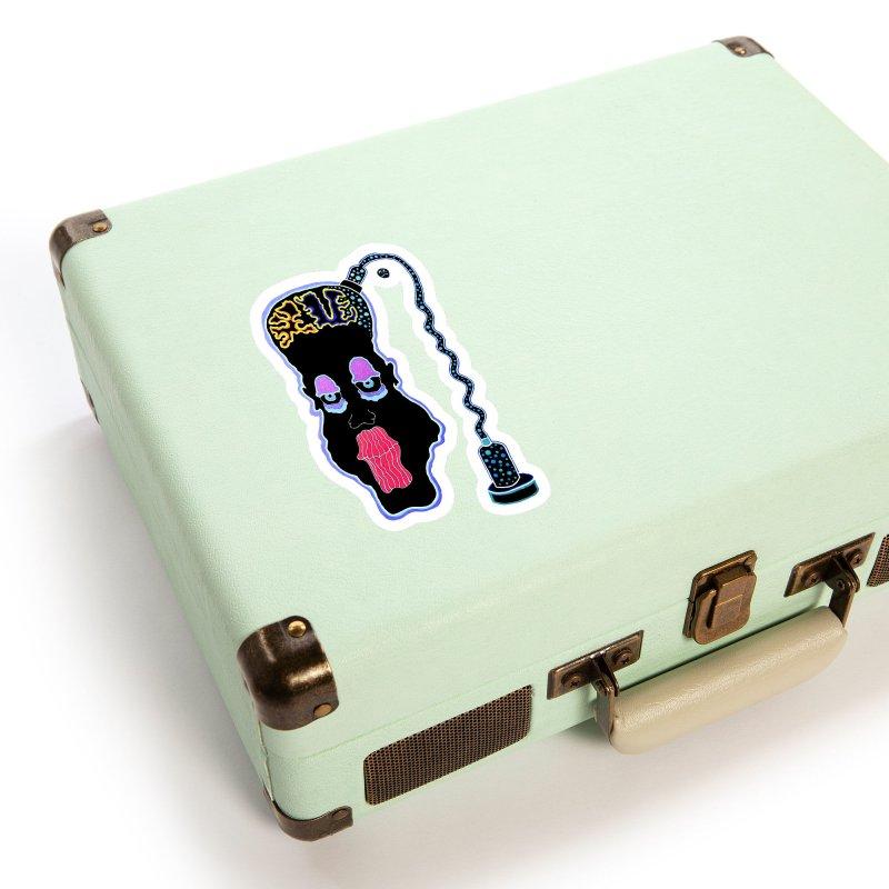Plugged In Accessories Sticker by Baston's T-Shirt Emporium!