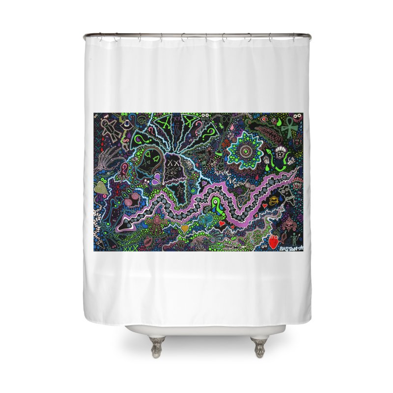 Shamanic Dream Home Shower Curtain by Baston's T-Shirt Emporium!