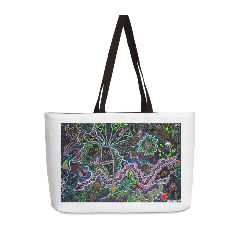 Shamanic Dream Accessories Weekender Bag Bag by Baston's T-Shirt Emporium!