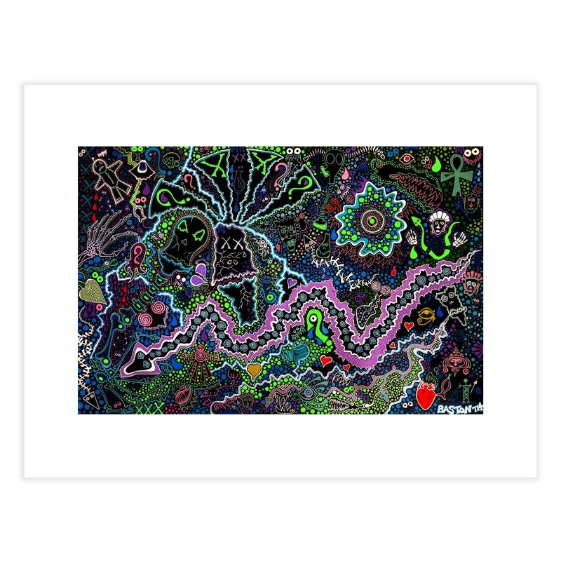 Shamanic Dream Home Fine Art Print by Baston's T-Shirt Emporium!
