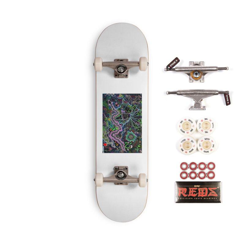 Shamanic Dream Accessories Complete - Pro Skateboard by Baston's T-Shirt Emporium!