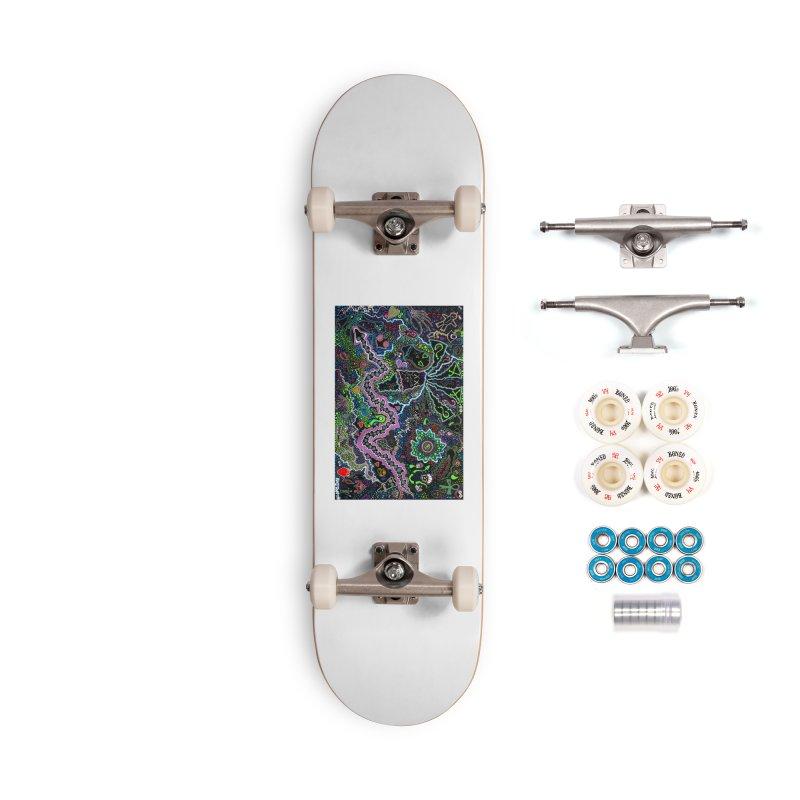 Shamanic Dream Accessories Complete - Premium Skateboard by Baston's T-Shirt Emporium!