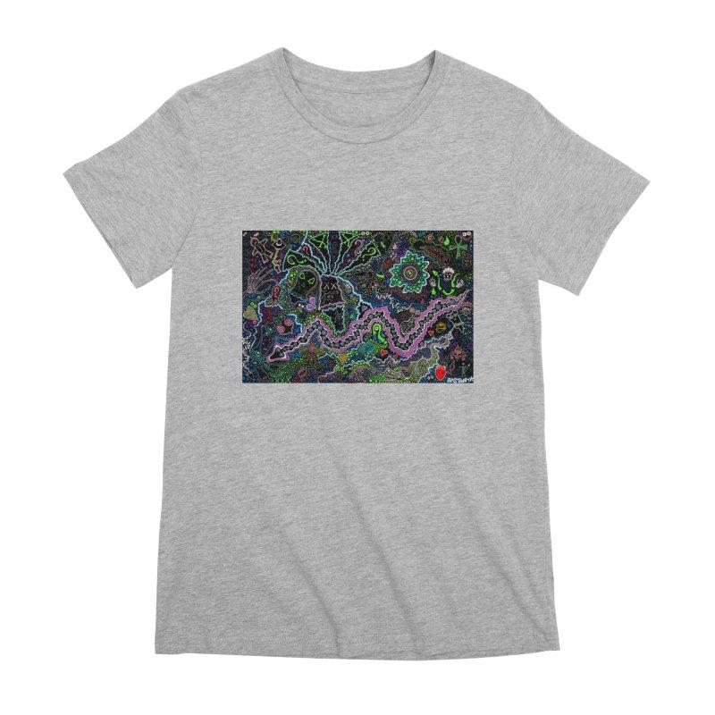 Shamanic Dream Women's Premium T-Shirt by Baston's T-Shirt Emporium!