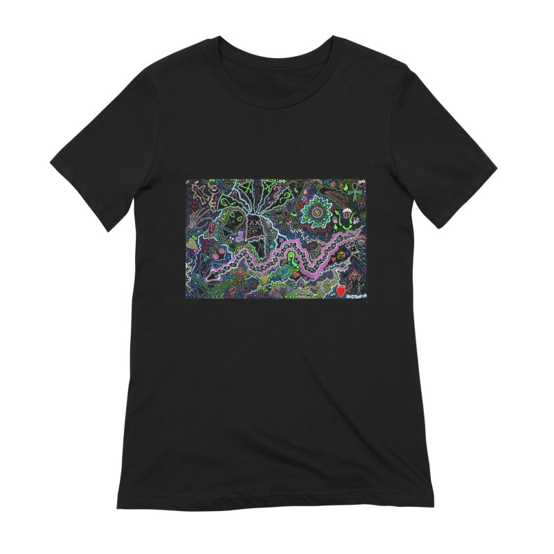 Shamanic Dream Women's Extra Soft T-Shirt by Baston's T-Shirt Emporium!