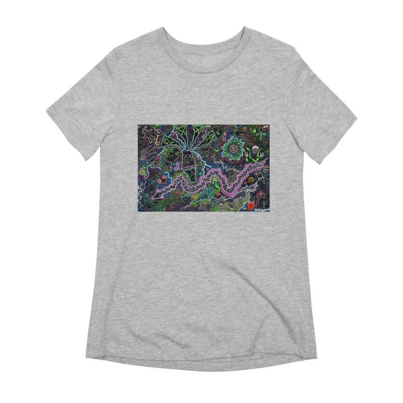 Shamanic Dream Women's Extra Soft T-Shirt by Baston's T-Shirt Emporium!