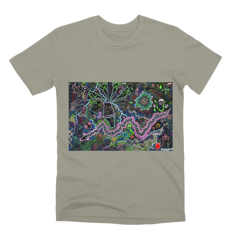 Shamanic Dream Men's Premium T-Shirt by Baston's T-Shirt Emporium!