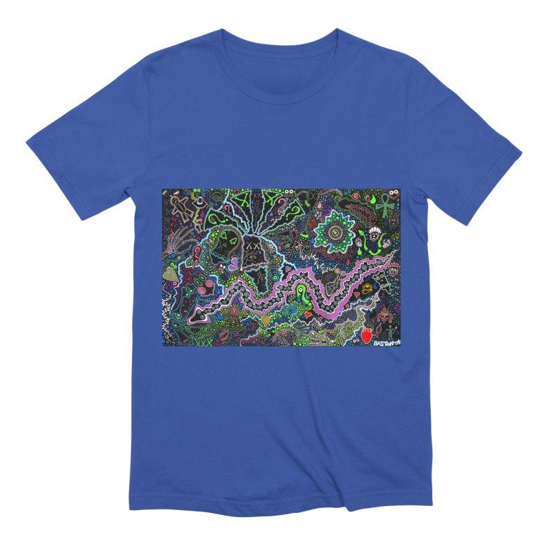 Shamanic Dream Men's Extra Soft T-Shirt by Baston's T-Shirt Emporium!