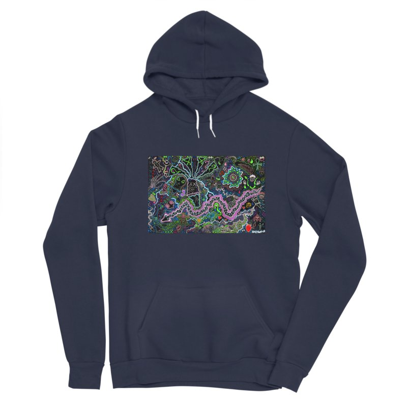 Shamanic Dream Men's Pullover Hoody by Baston's T-Shirt Emporium!