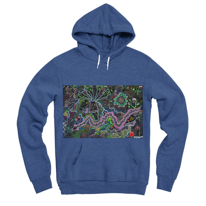 Shamanic Dream Women's Sponge Fleece Pullover Hoody by Baston's T-Shirt Emporium!