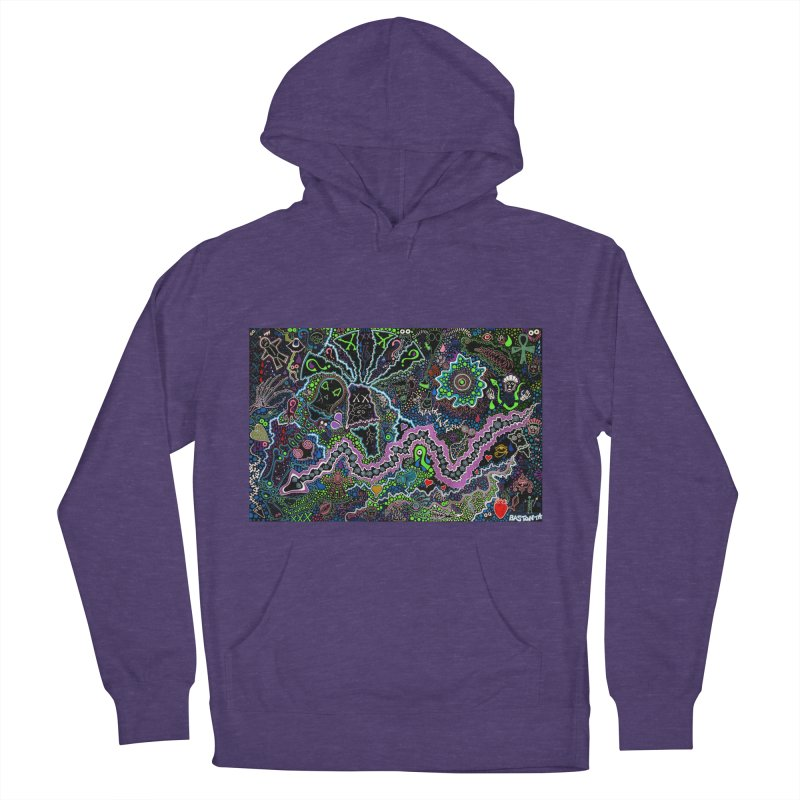 Shamanic Dream Women's French Terry Pullover Hoody by Baston's T-Shirt Emporium!