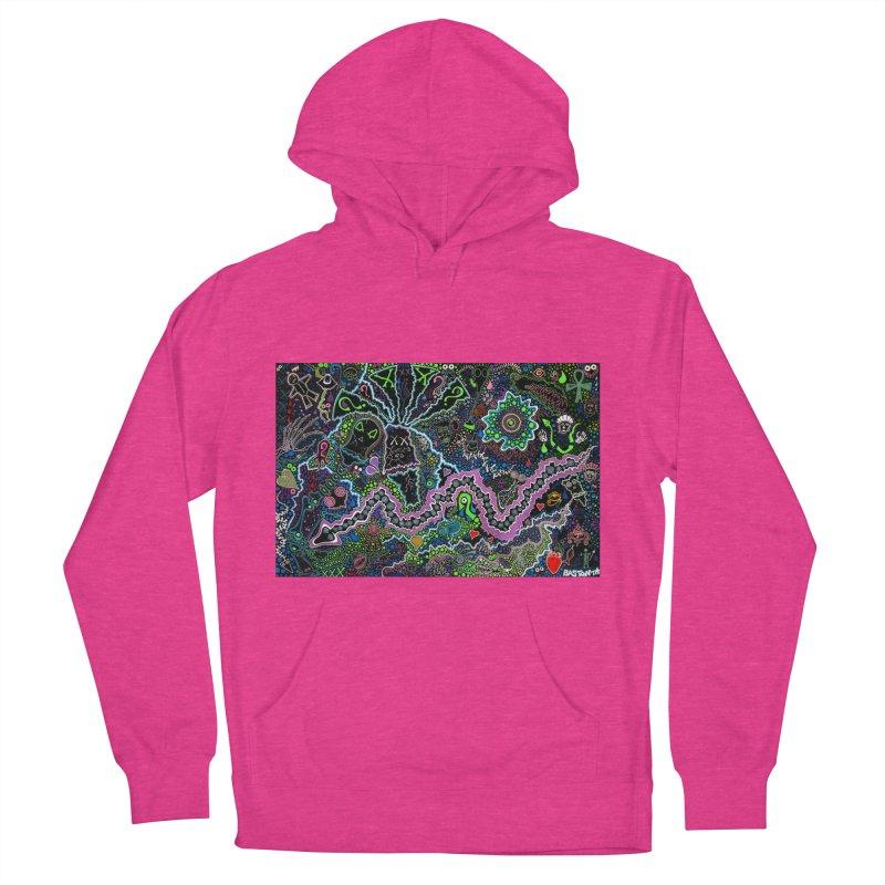 Shamanic Dream Women's French Terry Pullover Hoody by Baston's T-Shirt Emporium!