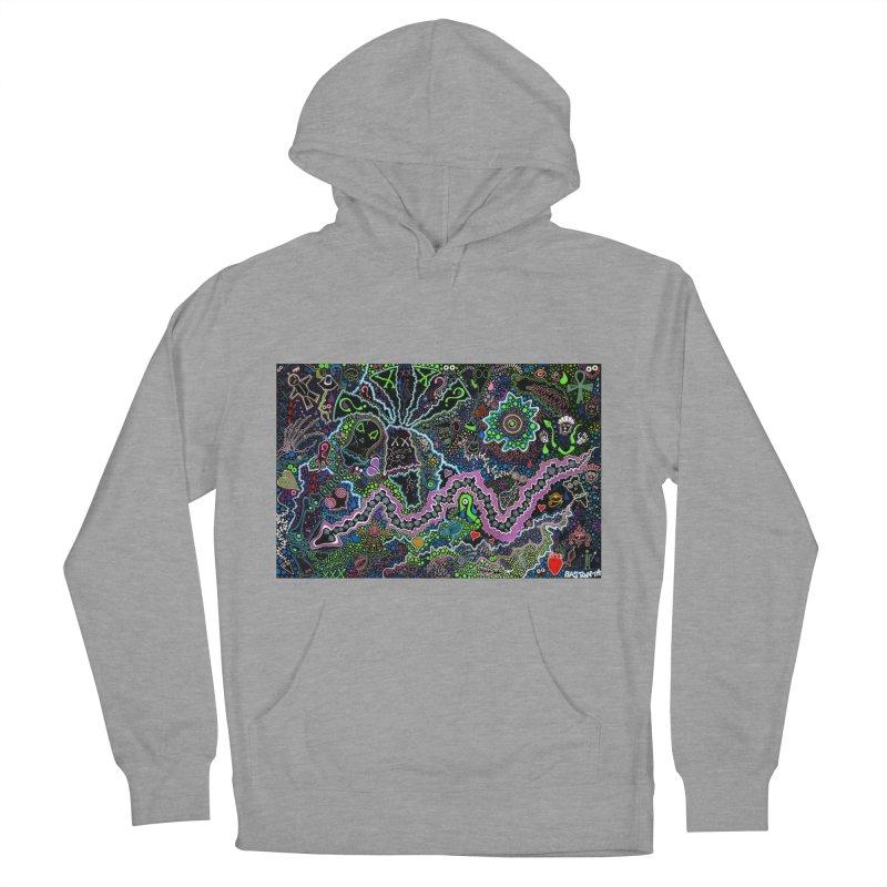 Shamanic Dream Men's French Terry Pullover Hoody by Baston's T-Shirt Emporium!