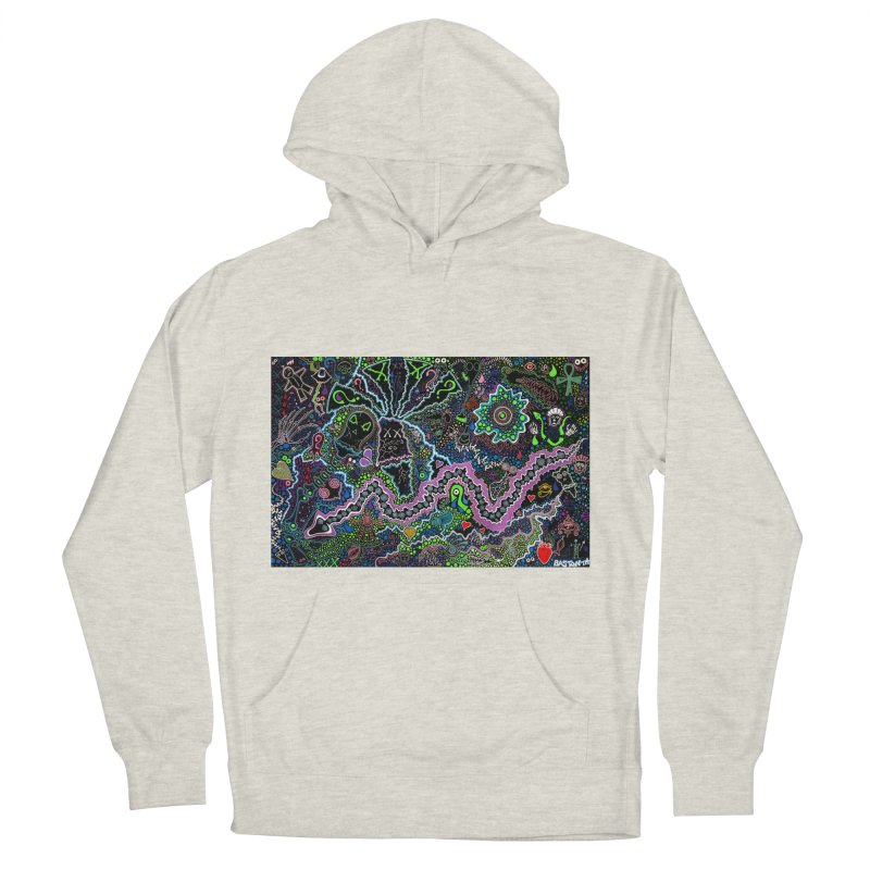 Shamanic Dream Men's French Terry Pullover Hoody by Baston's T-Shirt Emporium!