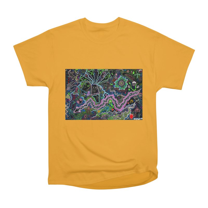 Shamanic Dream Women's Heavyweight Unisex T-Shirt by Baston's T-Shirt Emporium!