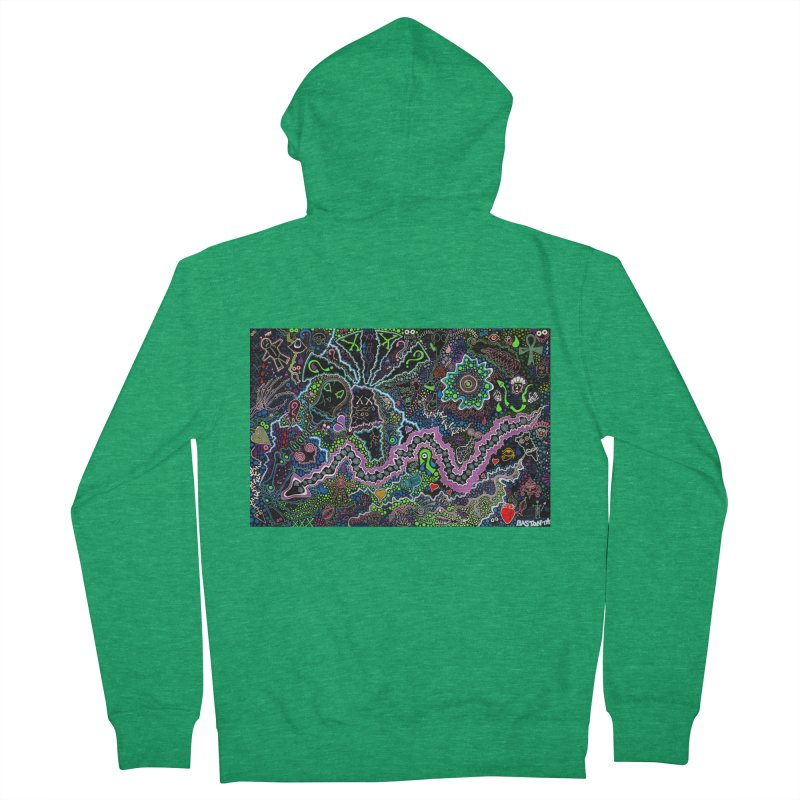 Shamanic Dream Women's French Terry Zip-Up Hoody by Baston's T-Shirt Emporium!