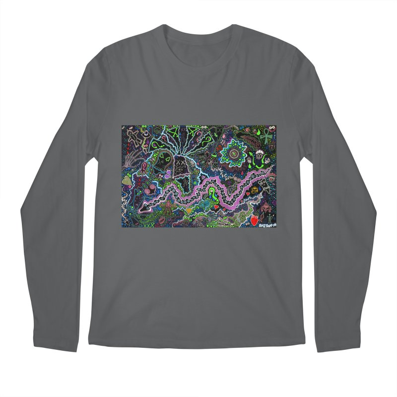 Shamanic Dream Men's Regular Longsleeve T-Shirt by Baston's T-Shirt Emporium!