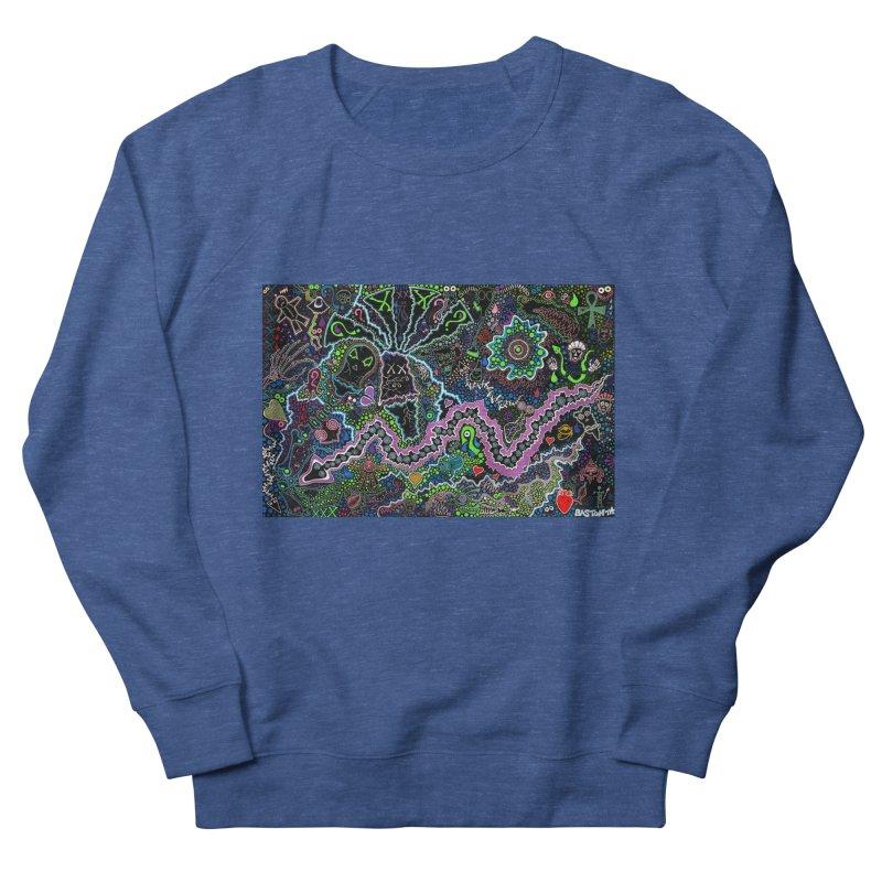 Shamanic Dream Women's French Terry Sweatshirt by Baston's T-Shirt Emporium!