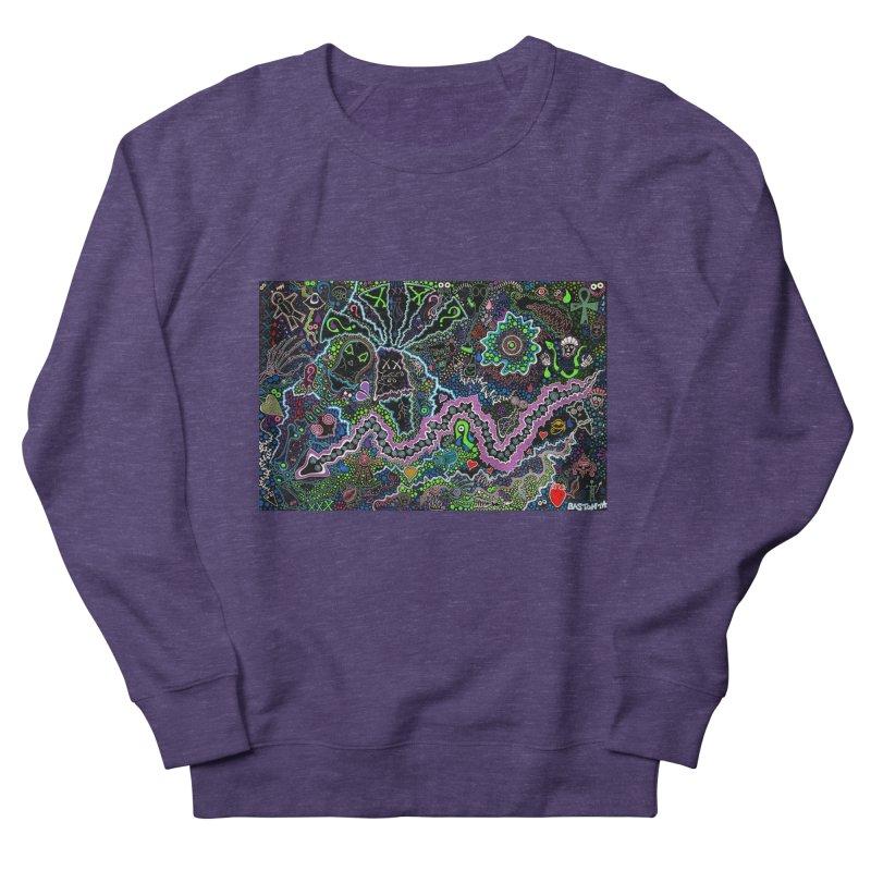 Shamanic Dream Men's French Terry Sweatshirt by Baston's T-Shirt Emporium!
