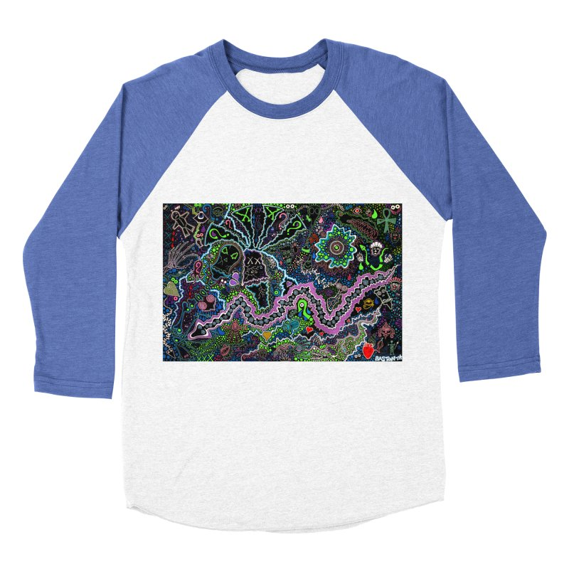 Shamanic Dream Women's Baseball Triblend Longsleeve T-Shirt by Baston's T-Shirt Emporium!