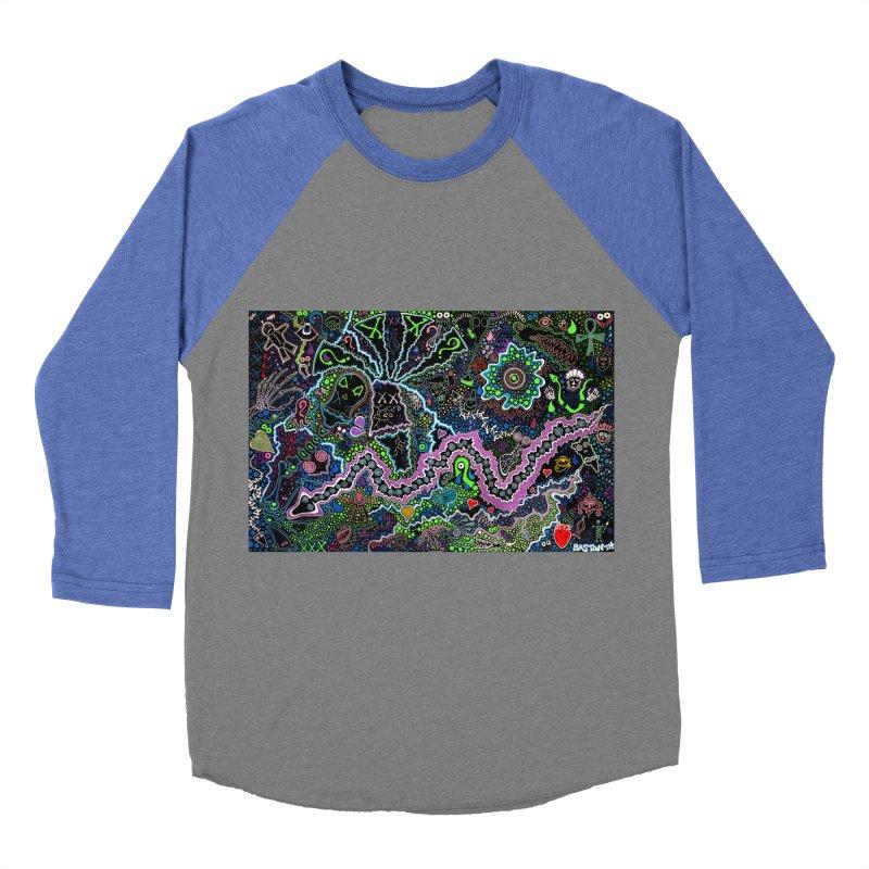 Shamanic Dream Men's Baseball Triblend Longsleeve T-Shirt by Baston's T-Shirt Emporium!