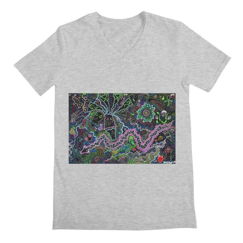 Shamanic Dream Men's Regular V-Neck by Baston's T-Shirt Emporium!