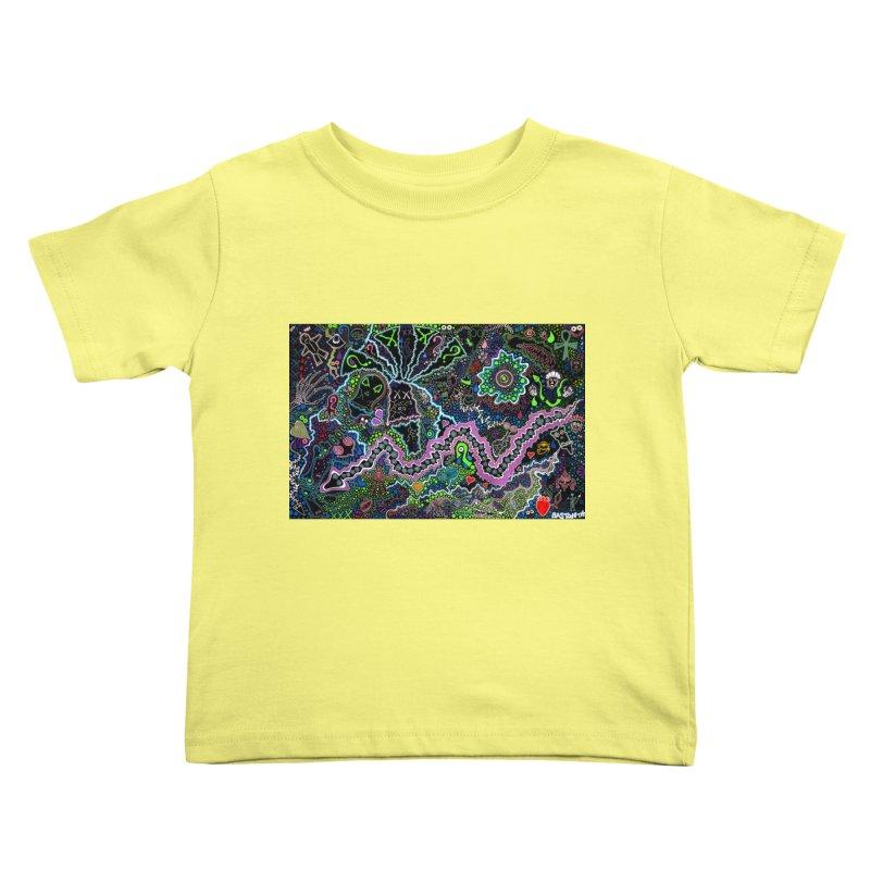 Shamanic Dream Kids Toddler T-Shirt by Baston's T-Shirt Emporium!