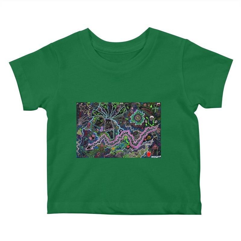Shamanic Dream Kids Baby T-Shirt by Baston's T-Shirt Emporium!