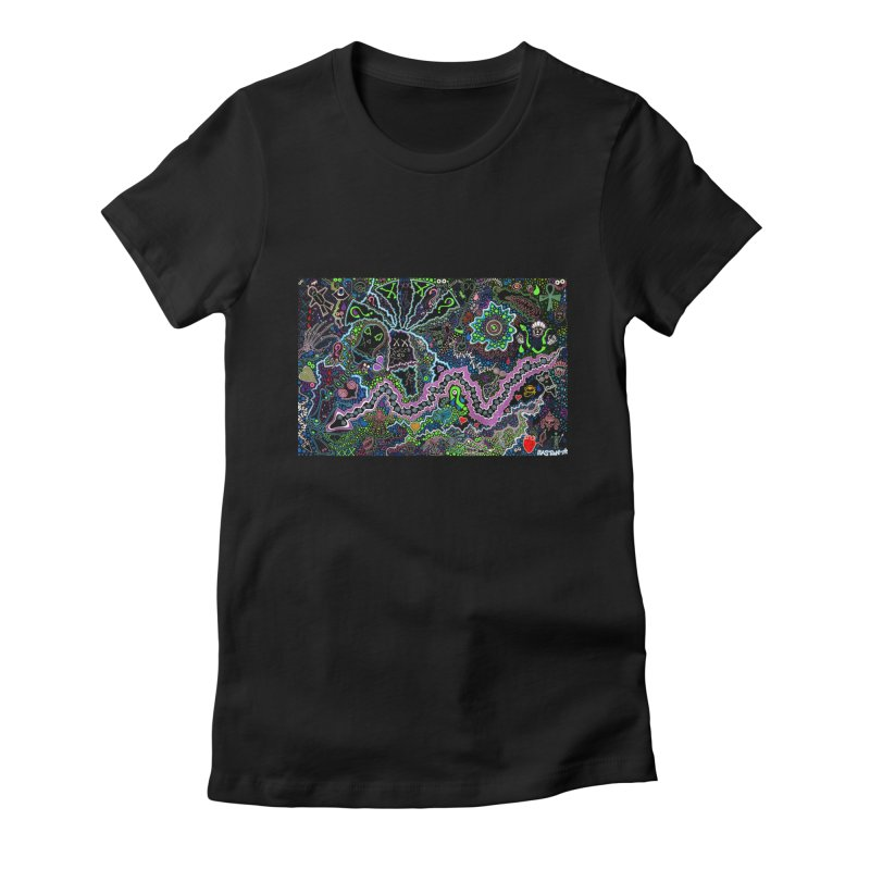 Shamanic Dream Women's T-Shirt by Baston's T-Shirt Emporium!