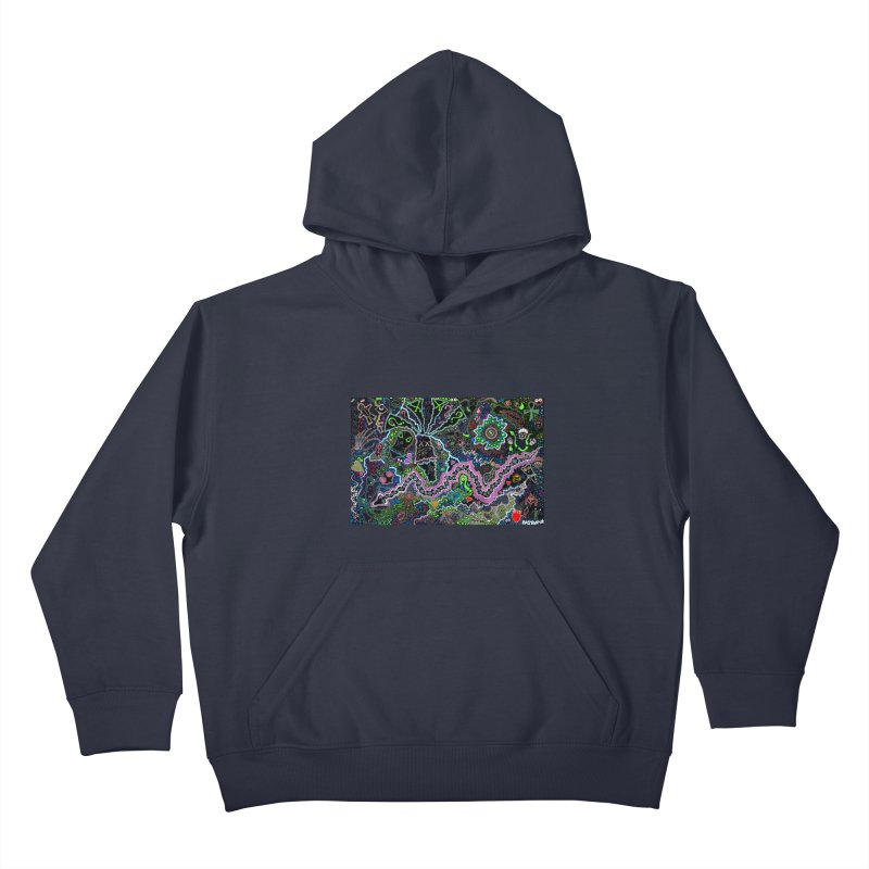 Shamanic Dream Kids Pullover Hoody by Baston's T-Shirt Emporium!