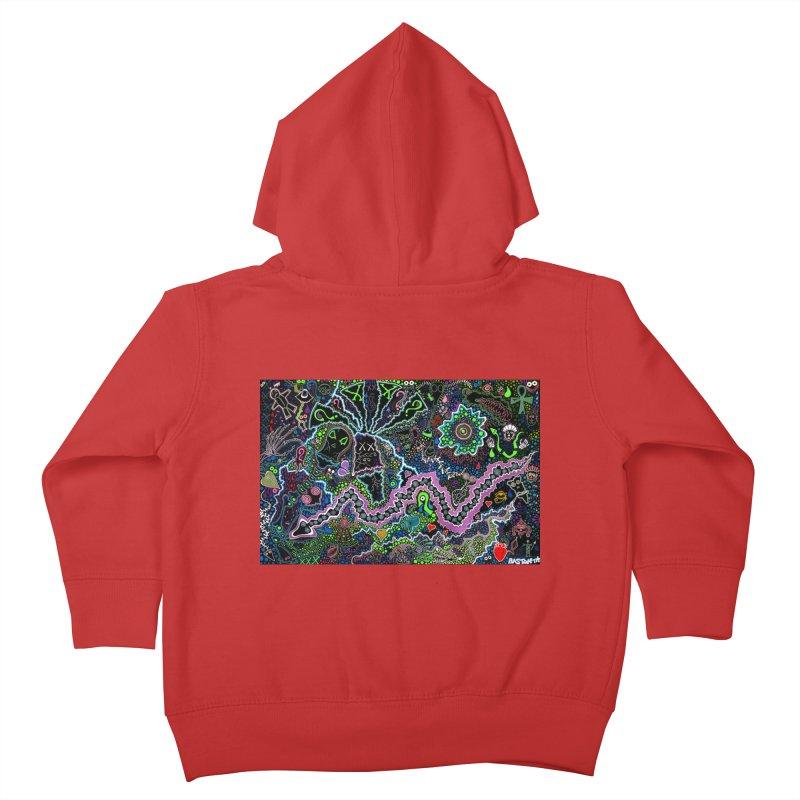 Shamanic Dream Kids Toddler Zip-Up Hoody by Baston's T-Shirt Emporium!
