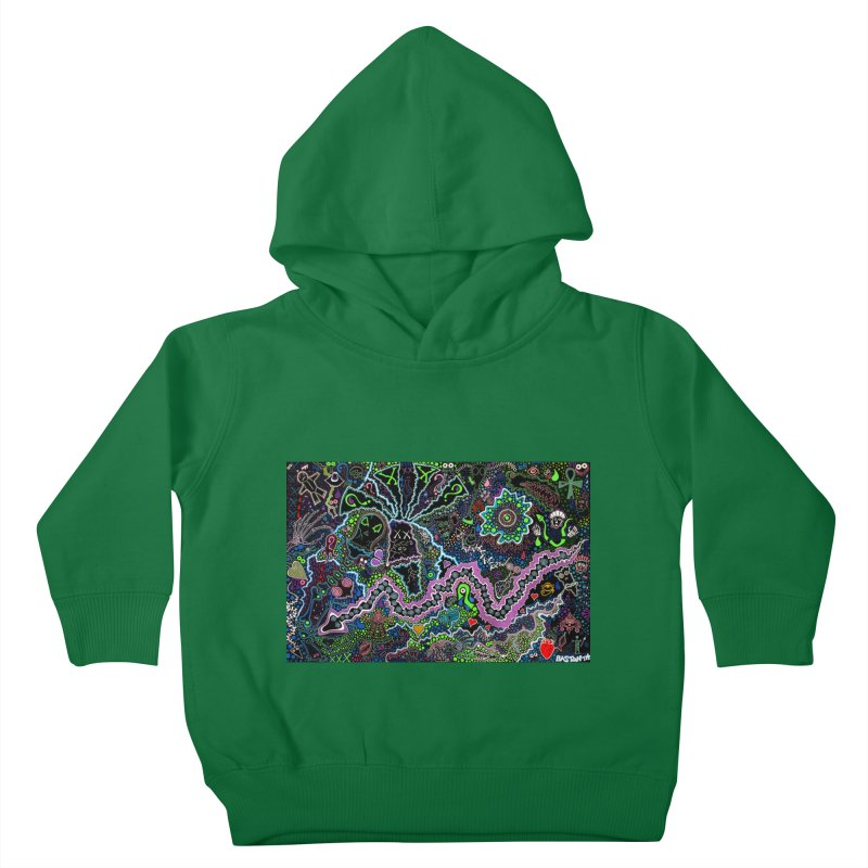 Shamanic Dream Kids Toddler Pullover Hoody by Baston's T-Shirt Emporium!