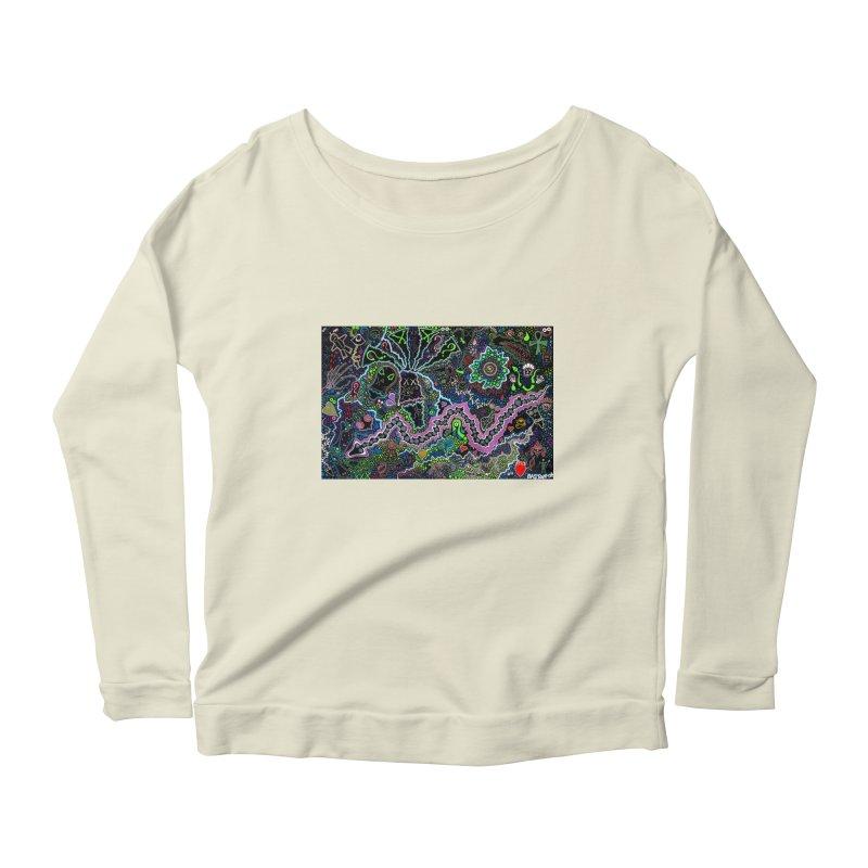 Shamanic Dream Women's Scoop Neck Longsleeve T-Shirt by Baston's T-Shirt Emporium!
